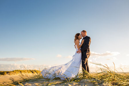 After-Wedding-Shooting Brautpaarshooting mit Olga und Alex in Sankt Peter-Ording an der Nordsee in Schleswig-Holstein
