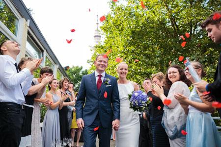 Hochzeitsreportage in Hamburg Planten un Blomen