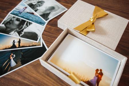 USB Stick und Fotobox